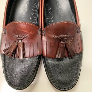 Cole Haan 10M men's black/brown dress shoe.